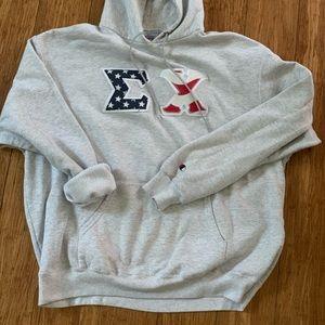 Champion Other - Vintage Champion Sigma Chi Frat Letters Sweatshirt
